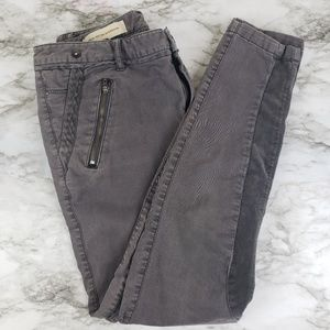 Pilcro and the Letterpress I Gray Skinny Pants